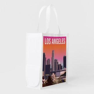 Sac Réutilisable L.A. du centre - Illustration personnalisable