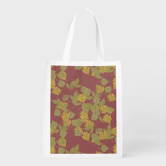 Sac Réutilisable La chute, automne leaves.customize je