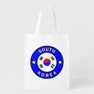 Sac Réutilisable La Corée du Sud