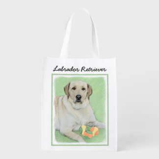 Sac Réutilisable Labrador retriever (jaune)