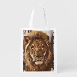 Sac Réutilisable lion en ville