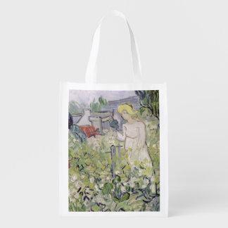Sac Réutilisable Mademoiselle Gachet de Vincent van Gogh | dans le