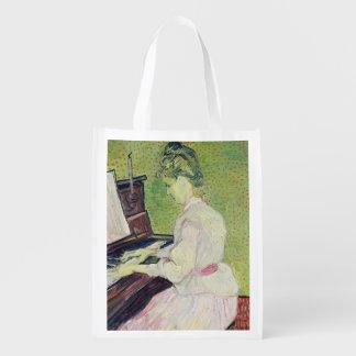 Sac Réutilisable Marguerite des prés Gachet de Vincent van Gogh |