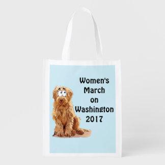 Sac Réutilisable Mars des femmes sur Washington 2017