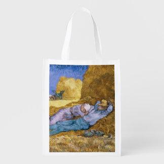 Sac Réutilisable Midi de Vincent van Gogh |, la sièste, après