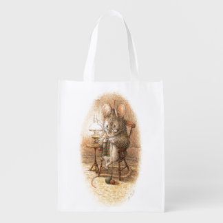 Sac Réutilisable Mme Dormouse Knitting