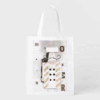 Sac Réutilisable Monsieur Chef Reusable Bag
