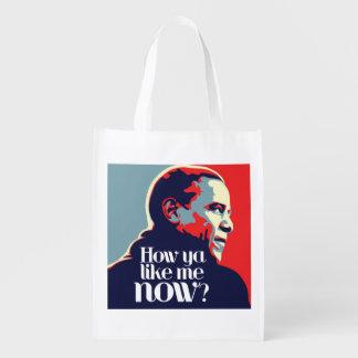 Sac Réutilisable Obama : Comment vous m'aimez maintenant