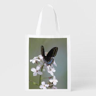 Sac Réutilisable Papillon noir de machaon