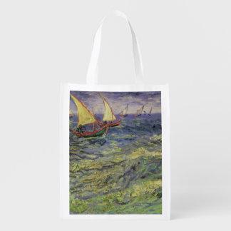 Sac Réutilisable Paysage marin de Vincent van Gogh | chez