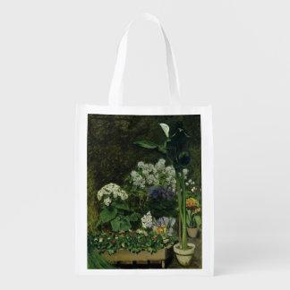 Sac Réutilisable Pierre fleurs de Renoir un   en serre chaude