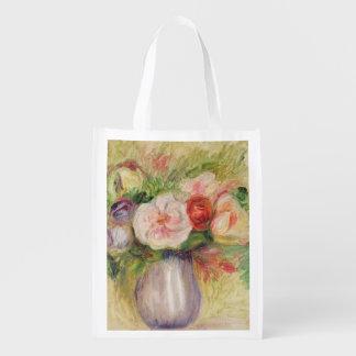 Sac Réutilisable Pierre un vase à Renoir   de fleurs