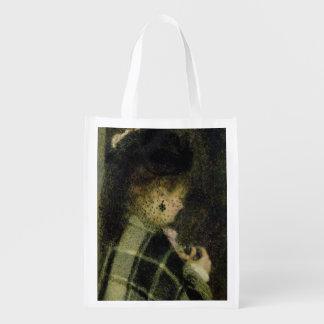 Sac Réutilisable Pierre une jeune femme de Renoir   avec un petit
