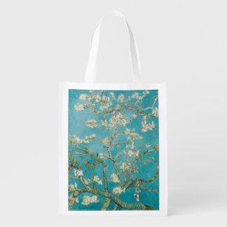 Sac Réutilisable PixDezines Van Gogh/fleurs d'amande