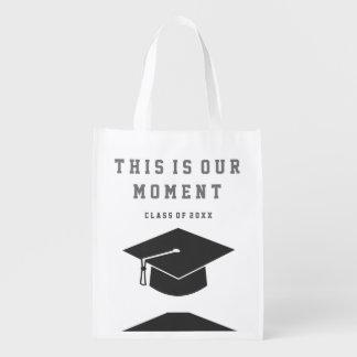 Sac Réutilisable Sac d'épicerie réutilisable d'obtention du diplôme