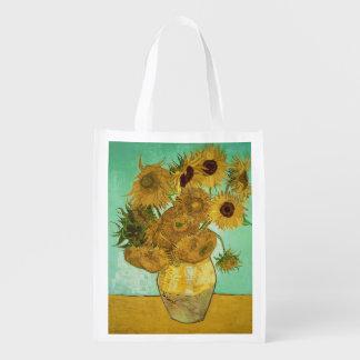 Sac Réutilisable Tournesols de Vincent van Gogh |, 1888