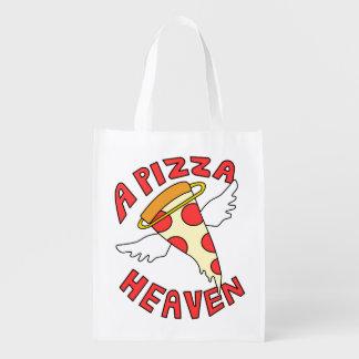Sac Réutilisable Un ciel de pizza