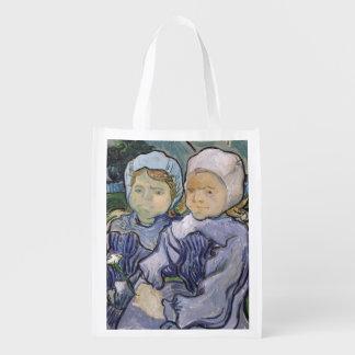 Sac Réutilisable Vincent van Gogh | deux petites filles, 1890