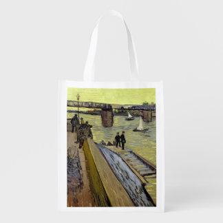 Sac Réutilisable Vincent van Gogh | Le Pont de Trinquetaille Arles