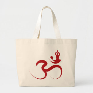 Sac simple de logo de silhouette de calligraphie