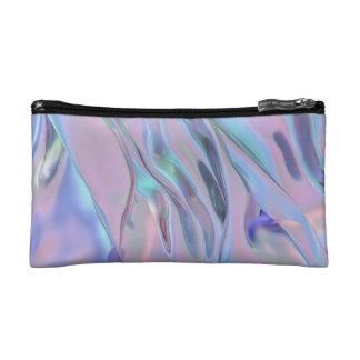 Sac Trippy iridescent de cosmétique de gel de Holo