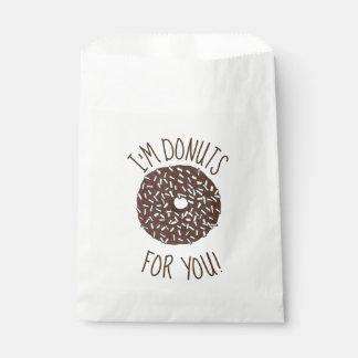 Sachets En Papier Butées toriques pour vous beignet de noix de coco