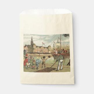 Sachets En Papier Cru de bateau de Sinterklaas de Néerlandais de