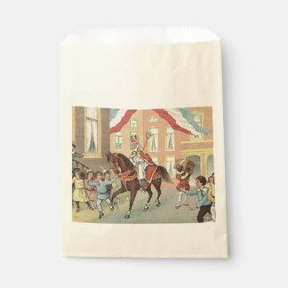 Sachets En Papier Cru de cheval de Sinterklaas de Néerlandais de