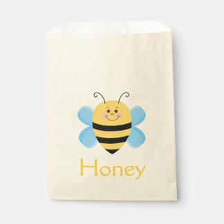 Sachets En Papier Illustration de bande dessinée d'abeille de bébé