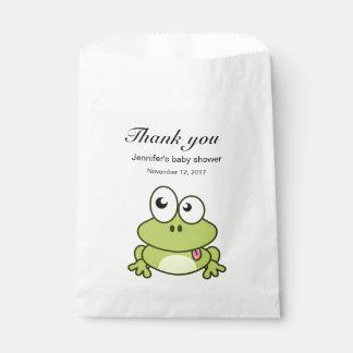 Sachets En Papier La bande dessinée mignonne drôle de grenouille