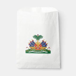 Sachets En Papier Le manteau du Haïti des bras