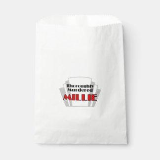 Sachets En Papier Millie complètement assassiné