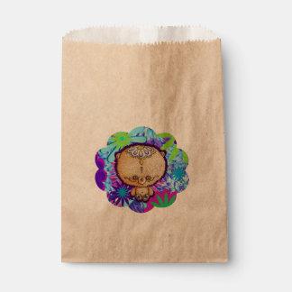 Sachets En Papier Ours de hippie
