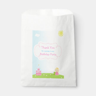 Sachets En Papier Princesse blonde Birthday