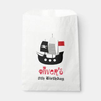 Sachets En Papier Sac squelettique de cadeau d'anniversaire de