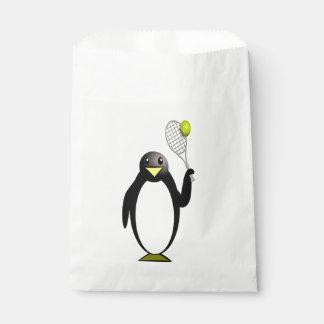 Sachets En Papier Tennis de pingouin