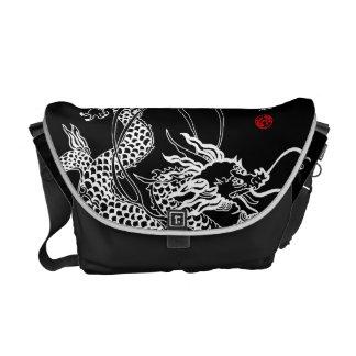 Sacoche Dragon chinois et Qin