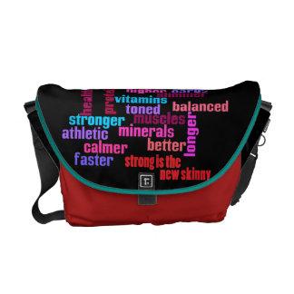 Sacoche gymnase ou sac de kit de motivation de sports