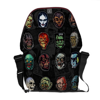 Sacoche Masques de Halloween de monstres de film d'horreur