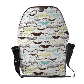 Sacoche Motif de moustache, rétro style 2