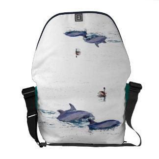 Sacoche Océan d'animaux de faune de dauphins de Bottlenose