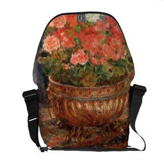 Sacoche Pierre géraniums de Renoir un | dans un bassin de