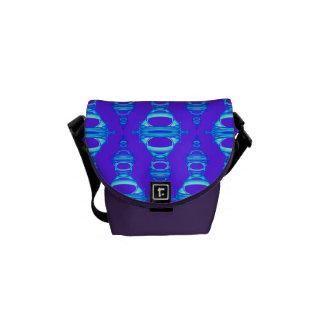 Sacoches Diviseurs modernes 03 de motif bleus et lilas