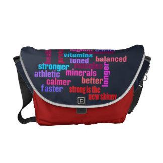 Sacoches gymnase ou sac de kit de motivation de sports -
