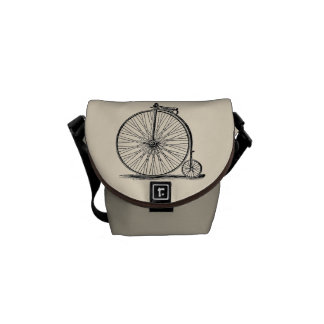 Sacoches Mini sac messenger vintage à Pennyfarthing
