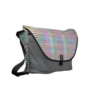 Sacoches Motif fait main de conception de tissu - arrière -