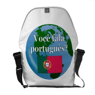 Sacoches Parlez-vous portugais ? dans le Portugais. Globe