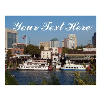"Sacramento, CA carte postale des ""vos textes ici"""