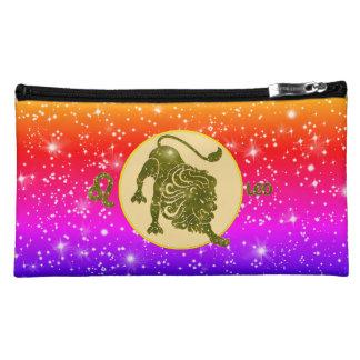Sacs cosmétiques modernes de zodiaque de Lion