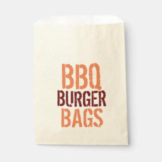 Sacs d'hamburger de BBQ